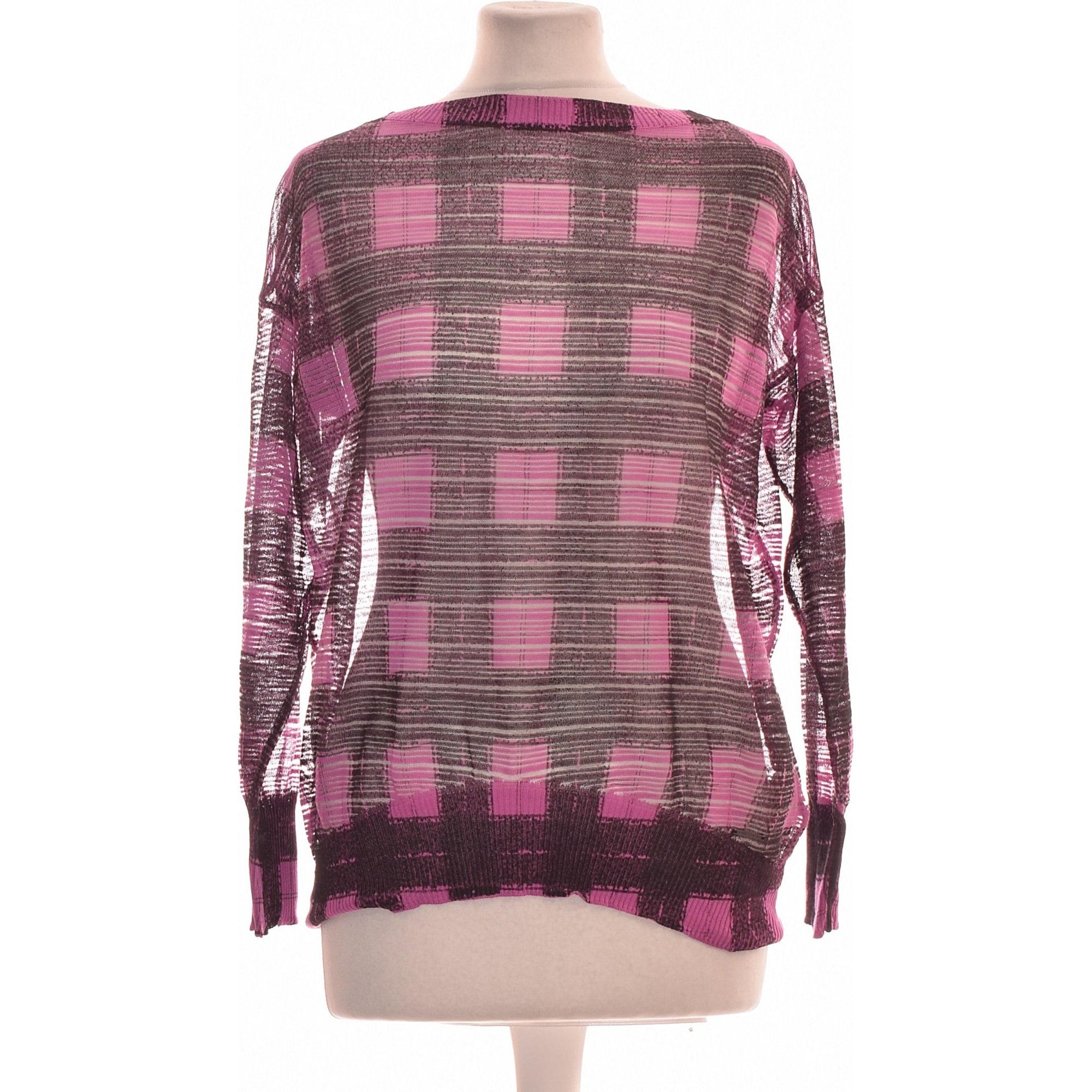 Tops, T-Shirt DIESEL Violett, malvenfarben, lavendelfarben