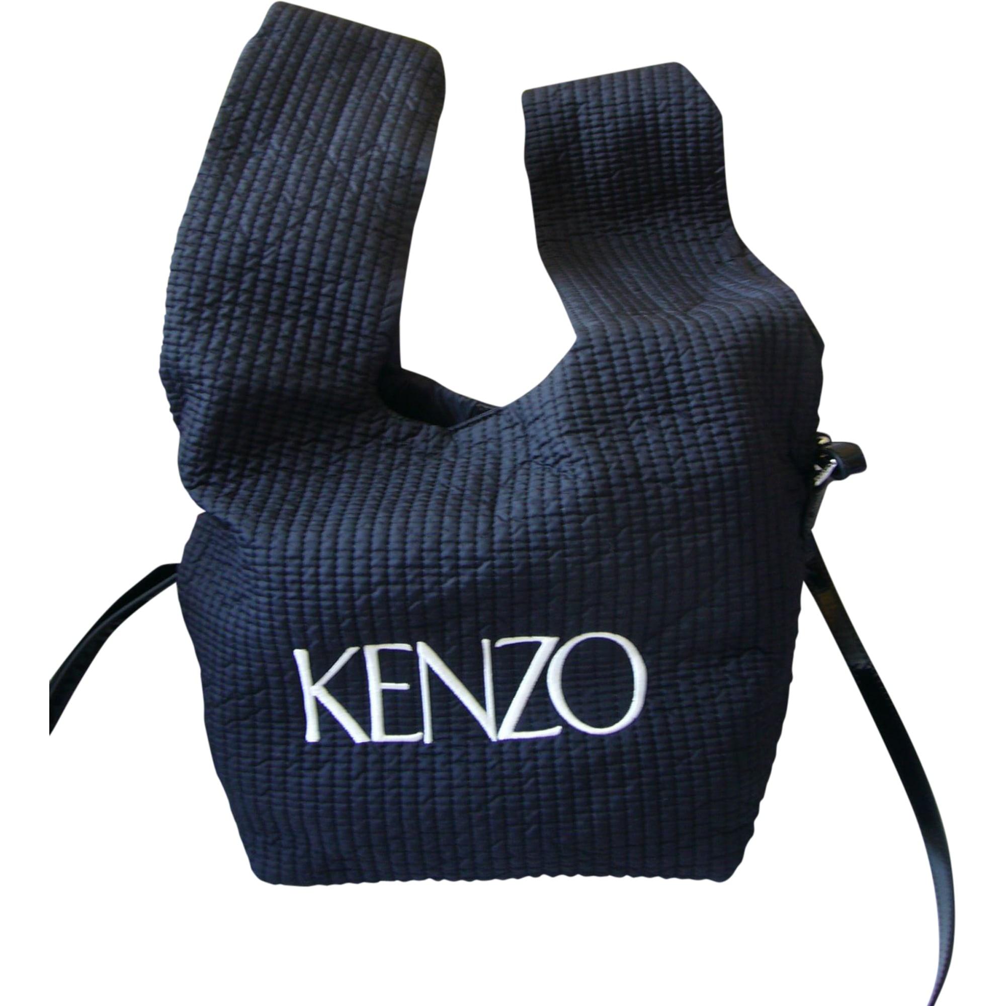 Sac à main en tissu KENZO Noir