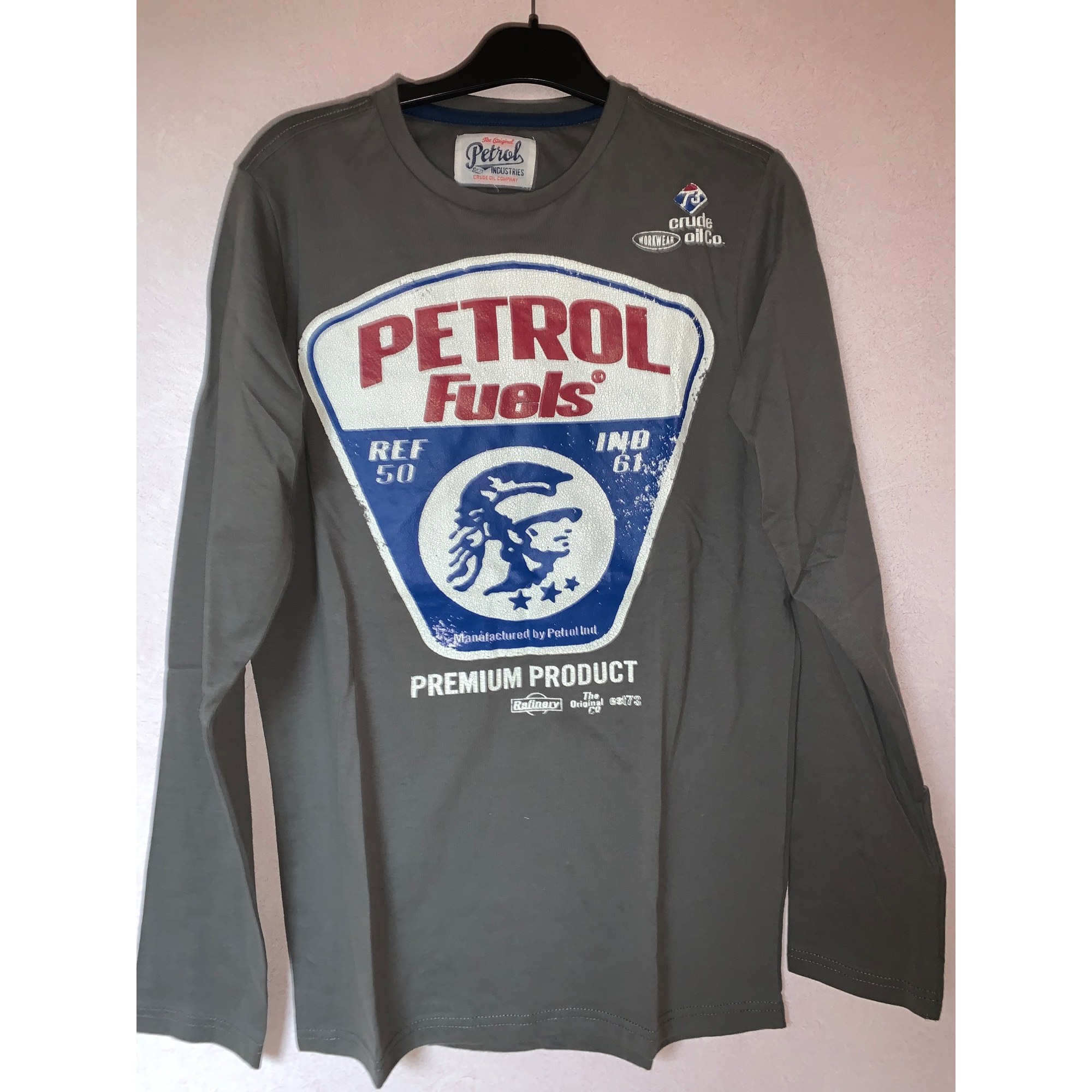 Sweat PETROL INDUSTRIES Gris, anthracite