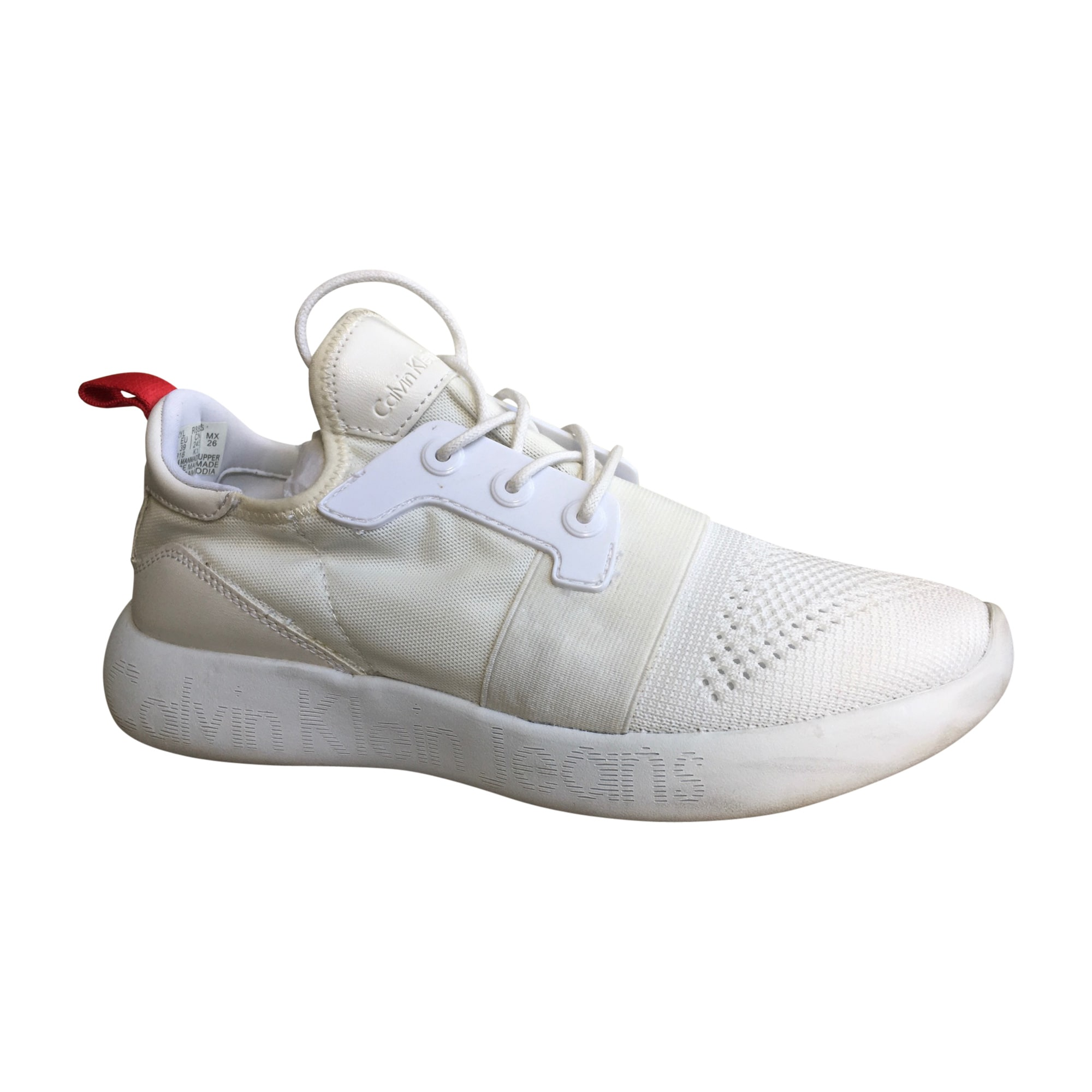 Chaussures de sport CALVIN KLEIN Blanc, blanc cassé, écru