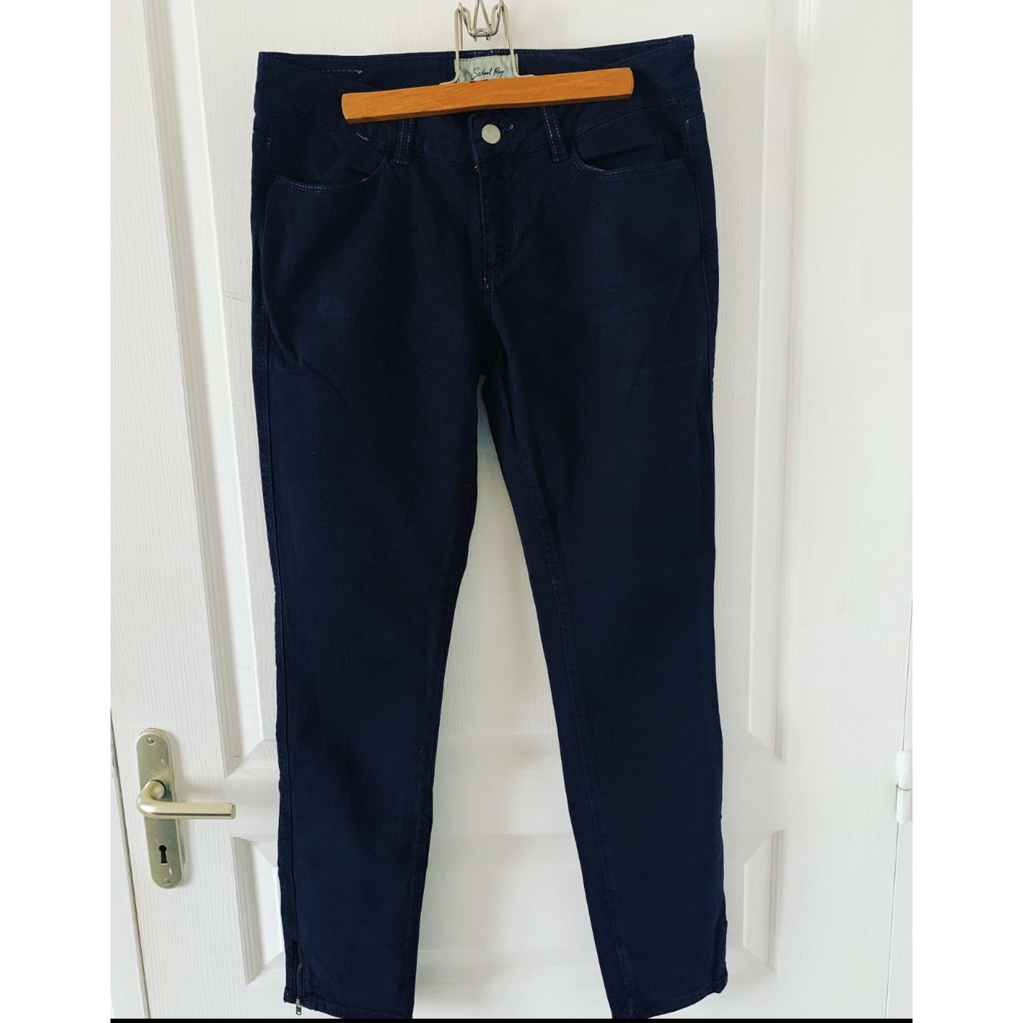 Jeans slim SCHOOL RAG Noir