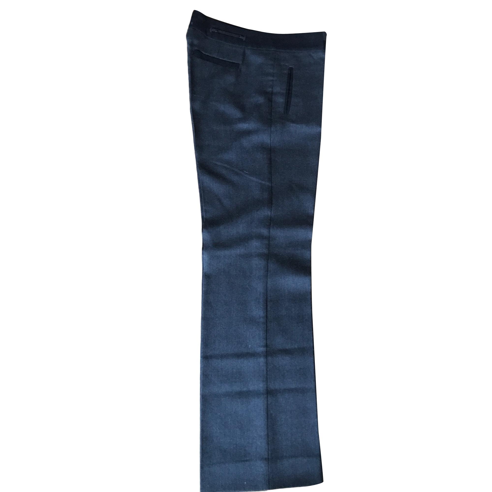 Pantalon large SPORTMAX Gris, anthracite