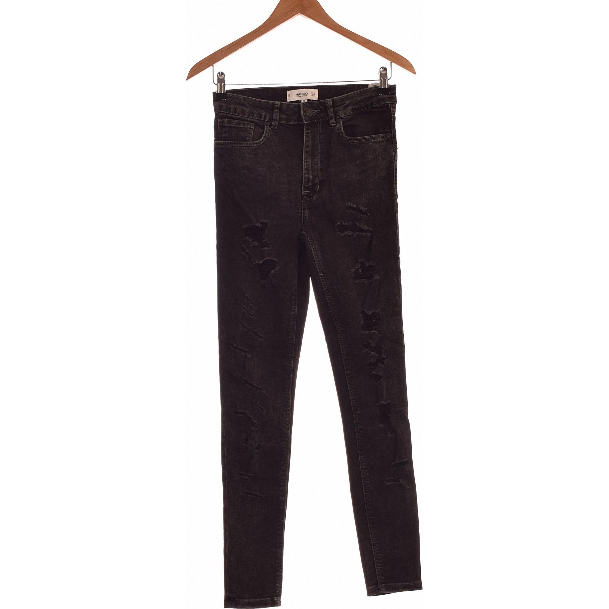 Jeans droit H&M Noir
