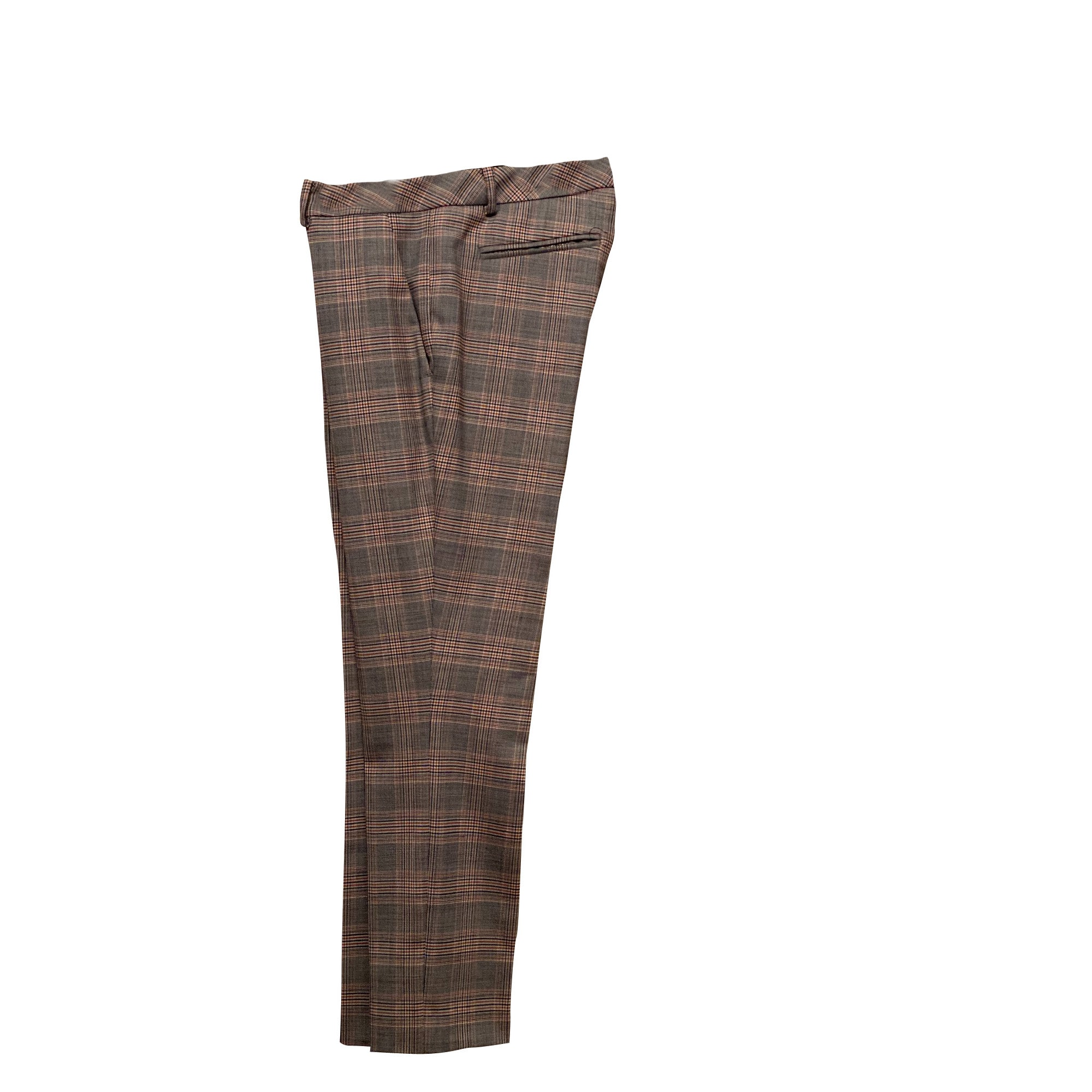 Pantalon slim, cigarette BA&SH Gris, anthracite