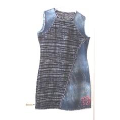 Robe en jeans Desigual  pas cher