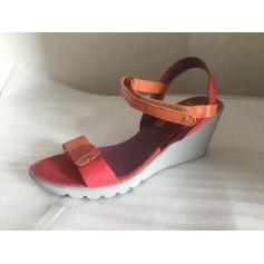 Wedge Sandals Stéphane Gontard