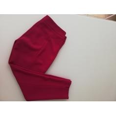 Pantalon slim, cigarette Bleu Blanc Rouge  pas cher