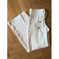Pantalon large Burberry  pas cher