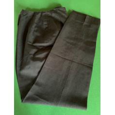 Pantalon droit Emmanuelle Khanh  pas cher