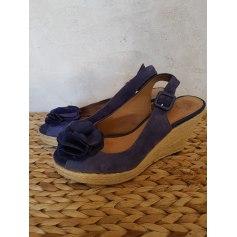 Sandales compensées Clarks  pas cher