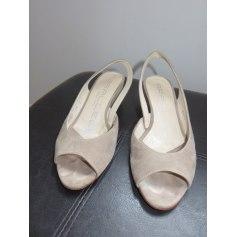 Sandales compensées Parallèle  pas cher