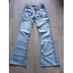Jeans évasé, boot-cut Kaporal  pas cher