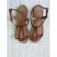 Sandales plates  les tropeziennes  pas cher