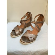 Sandales compensées Hispanitas  pas cher