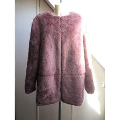 Manteau en fourrure Kiabi  pas cher