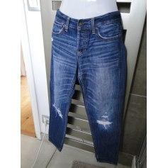 Jeans large, boyfriend Hollister  pas cher