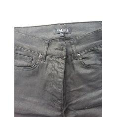 Pantalon slim, cigarette Caroll  pas cher
