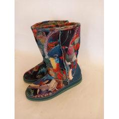 Bottines & low boots plates Desigual  pas cher