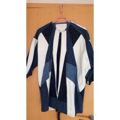 Manteau en jean Maje  pas cher