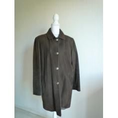 Manteau en cuir Brice Berger pour Ventilo  pas cher