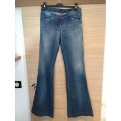 Jeans très evasé, patte d'éléphant Armani Jeans  pas cher