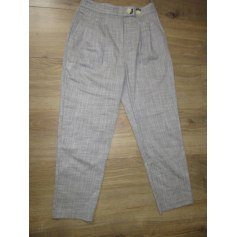Pantalon large Topshop  pas cher