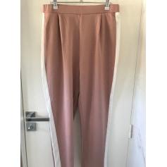 Pantalon droit Pull & Bear  pas cher