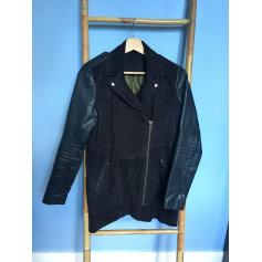 Manteau en cuir Kookai  pas cher
