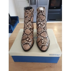 Bottines & low boots à talons Marypaz  pas cher