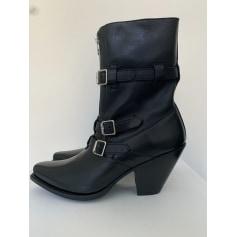Santiags, bottines, low boots cowboy Céline  pas cher