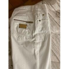 Pantalon droit Bleu Blanc Rouge  pas cher