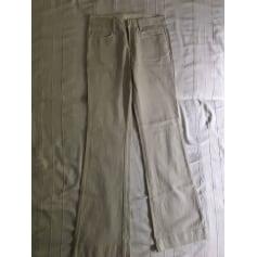 Jeans très evasé, patte d'éléphant Comptoir Des Cotonniers  pas cher