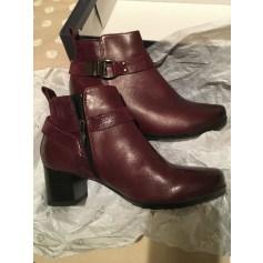 Bottines & low boots à talons Caprice  pas cher