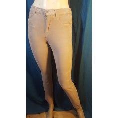 Pantalon droit Bruno Saint Hilaire  pas cher