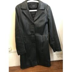 Manteau en cuir Vintage  pas cher