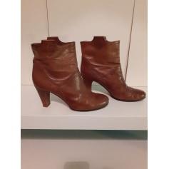 Bottines & low boots à talons Progetto  pas cher