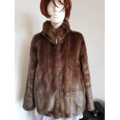 Manteau en fourrure Ferrache  pas cher