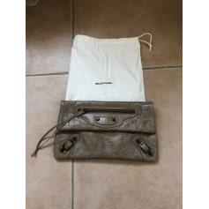 Handtasche Leder Balenciaga City