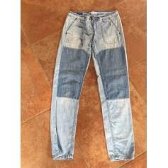 Jeans droit Pèpè  pas cher