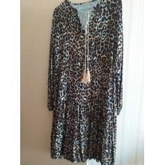 Robe mi-longue Made in Italy  pas cher