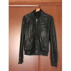 Leather Coat Dolce & Gabbana