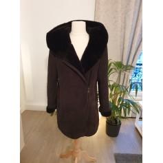 Manteau en fourrure Un Jour Ailleurs  pas cher