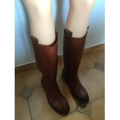 Bottes plates Inuovo  pas cher
