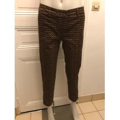 Pantalon slim, cigarette Sisley  pas cher