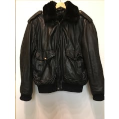Leather Zipped Jacket Vintage