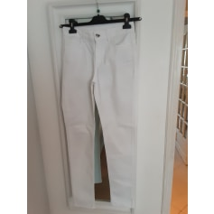 Jeans droit Twin-Set Simona Barbieri  pas cher