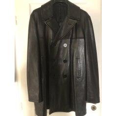 Manteau en cuir Thierry Mugler  pas cher
