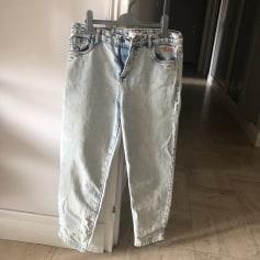 Jeans large, boyfriend Tinycottons  pas cher