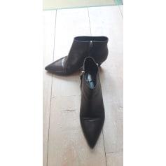 High Heel Ankle Boots Prada