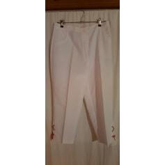 Pantalon droit Bleu Bonheur  pas cher